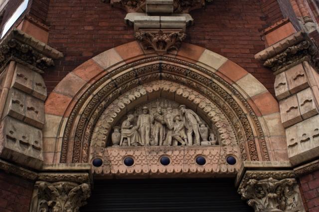 The Tinworth Tympanum at the Royal Doulton Factory