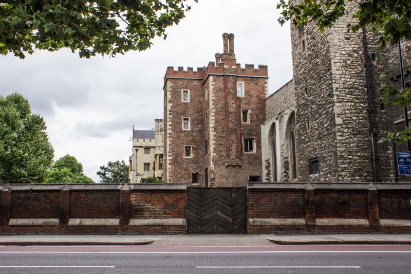 Lambeth Palace from Lambeth Palace Road