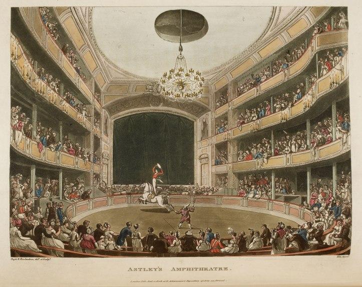 Astley's Amphitheatre (www.bl.uk)