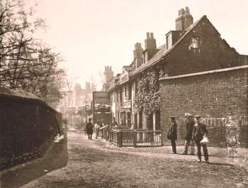 Bishops Walk, Lambeth, c.1860 (www.ideal-homes.org.uk)