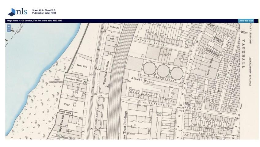 London Uk Street Map.Glasshouse Street Map 1895 Www Maps Nls Uk London Traveller
