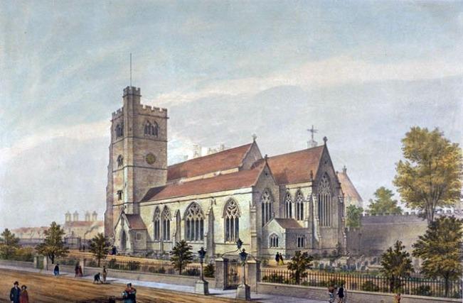 St Mary At Lambeth,1851 (www.partleton.co.uk)