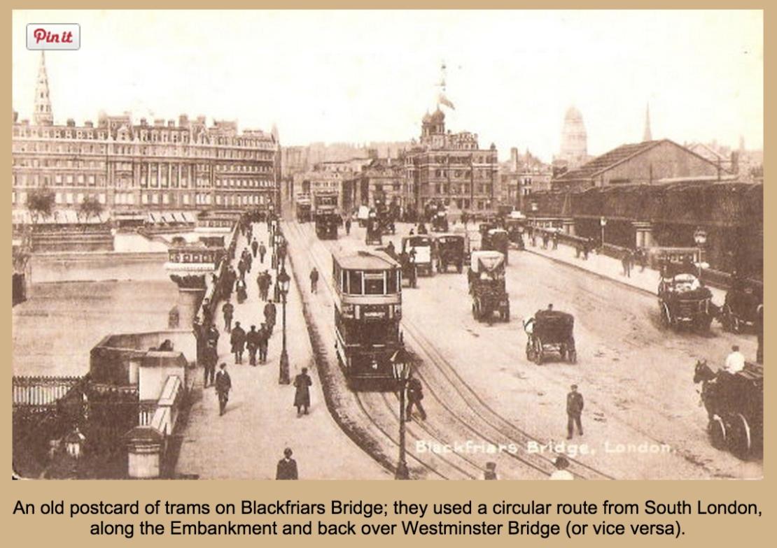 Trams on Blackfriars Bridge, (www.http://usuaris.tinet.org)