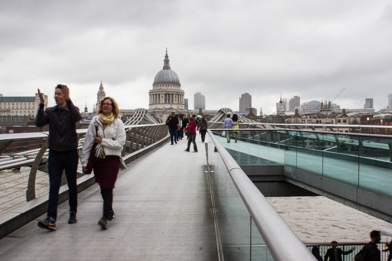 The Millennium Bridge & St Paul's Cathedral