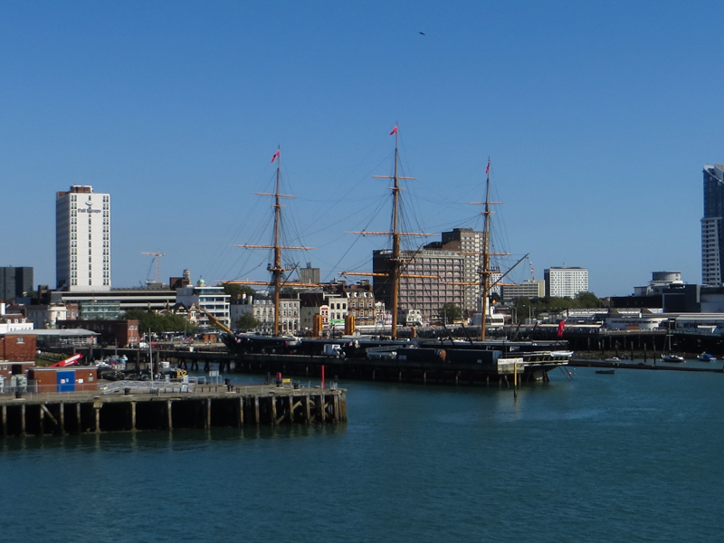 HMS Warrior, the first iron-clad warship