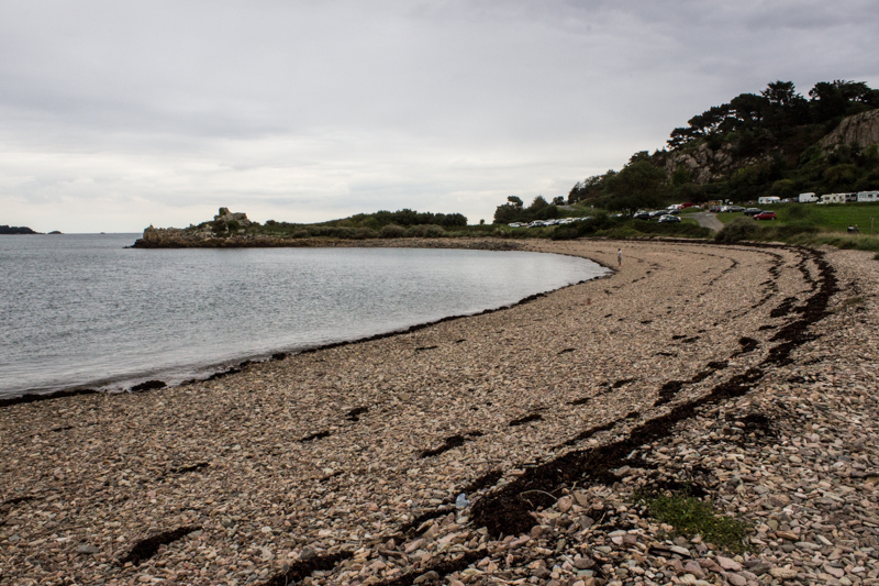 The beach at L'Arcouest, north of Paimpol