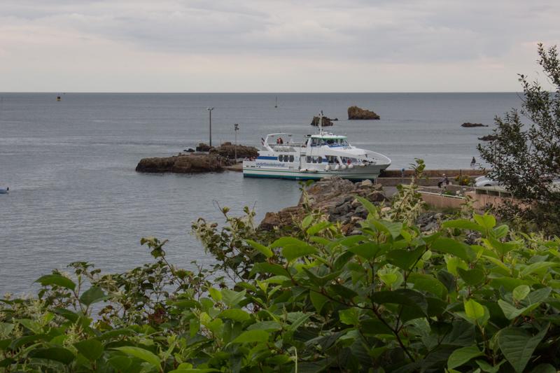 The ferry to the Ile de Brehat