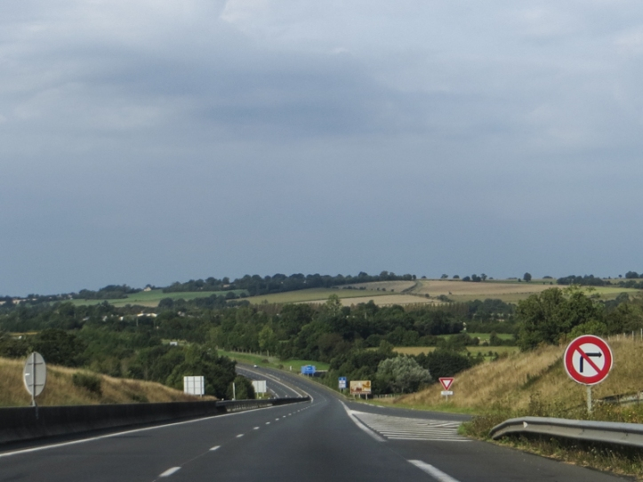 On the road from Caen to Le Chatellier