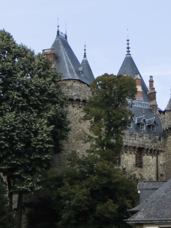 The castle in Combourg