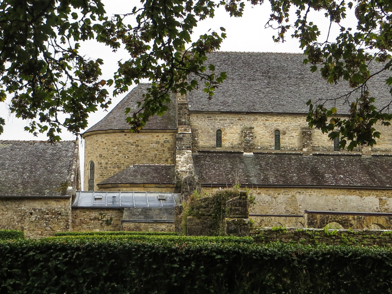 The Abbey Church of Daoulas