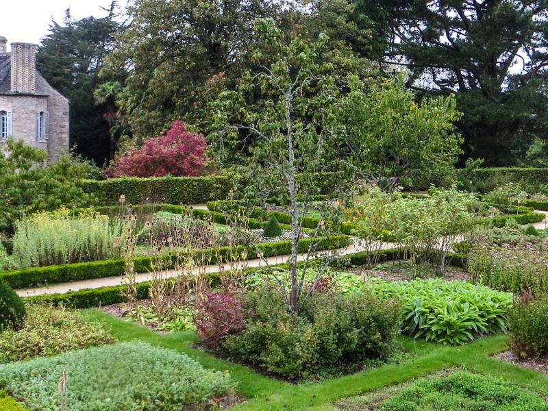 The medicinal garden at Daoulas Abbey