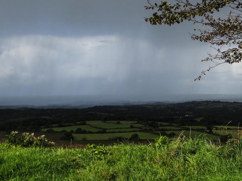 Rain in the Monts d'Arree