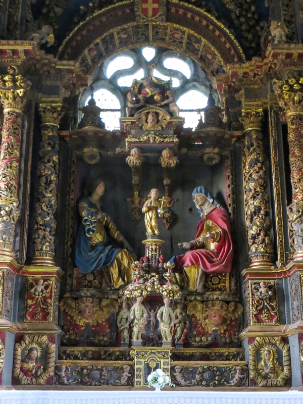 The Retable of St Anne, Commana Church