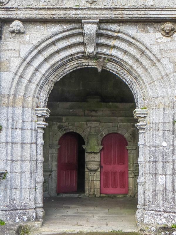 The church porch, Commana