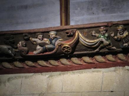 Carvings in Pleyben Church