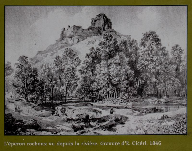 Information board, La Roche Maurice