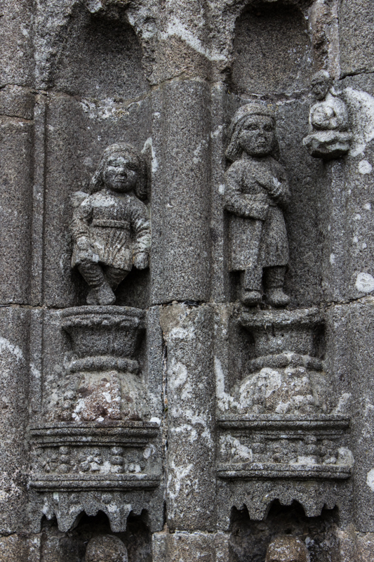 Children? on the South Porch Arch, Ploudiry Church