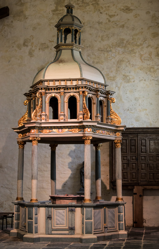 The Font, La Martyre Church
