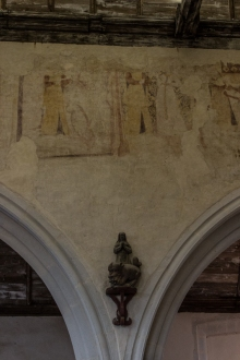 14C wall paintings in La Martyre