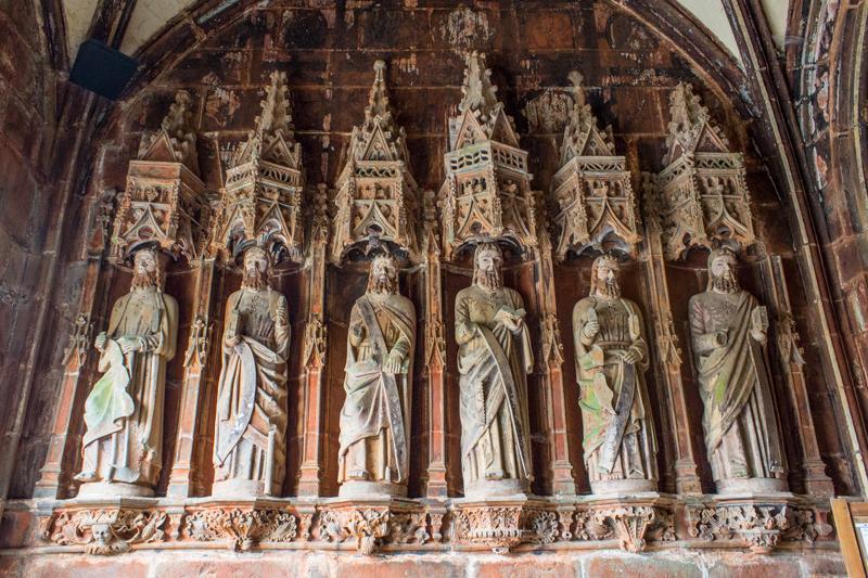 The Apostles in the South Porch, Pencran Church