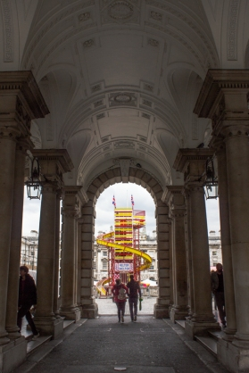 The archway off the Strand, Somerset House