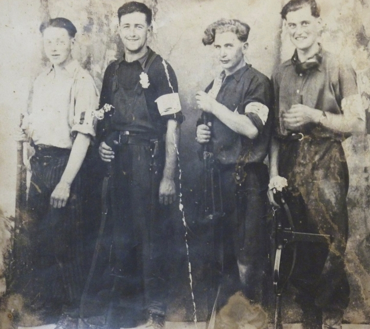 Resistance fighters from Huelgoat (https://en.wikipedia.org/wiki/French_Resistance)