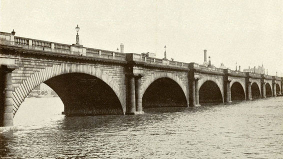 John Rennie's Waterloo Bridge (http://www.hw.ac.uk/news/archive/2011/heriot-watt-pays-tribute-to-250th-anniversary-john-rennie.htm)