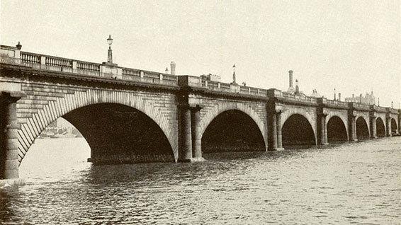 John Rennie's Waterloo Bridge (http://www.hw.ac.uk/news/archive/2011/heriot-watt-pays-tribute-to-250th-anniversary-john-rennie.htm)