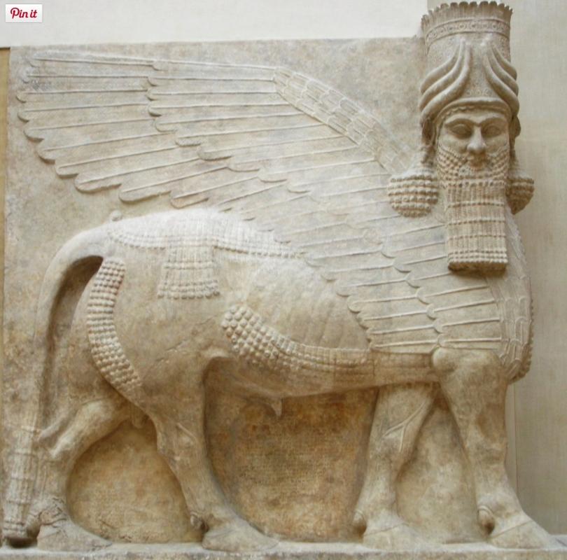 Winged Assyrian Bull (Wikipedia)