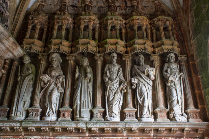 The Apostles in the South Porch, Guimiliau