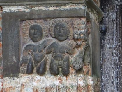 Carvings in the South Porch, Guimiliau