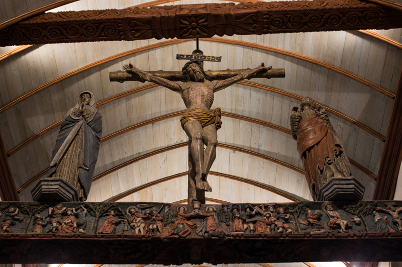 The 16C Rood Screen, Lampaul-Guimiliau
