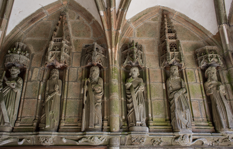 The Apostles in the South Porch, Lampaul-Guimiliau