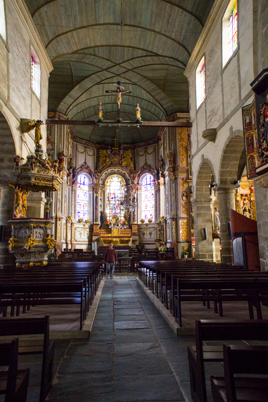 St Thegonnec - the High Altar