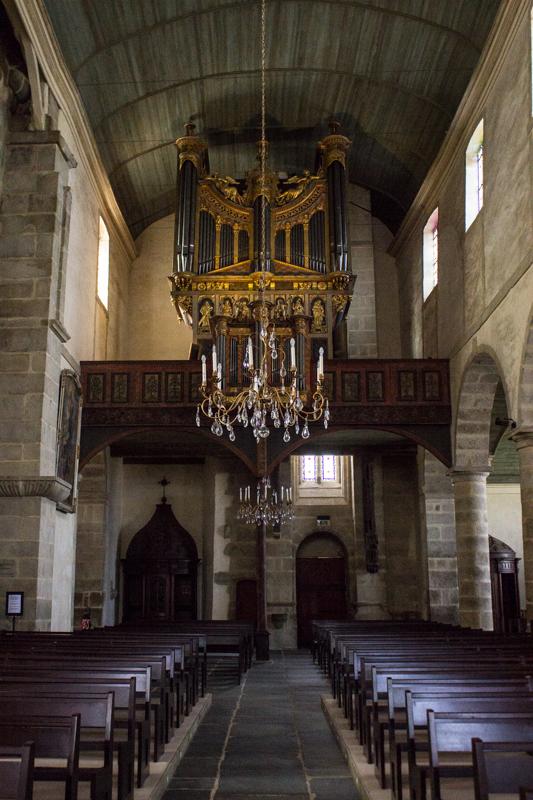 St Thegonnec - the organ loft