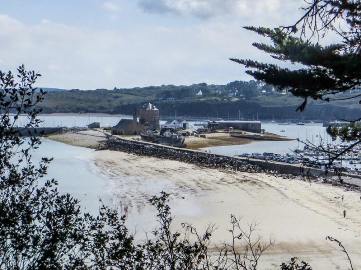 Camaret-sur-Mer harbour, beach, and Vauban Tower