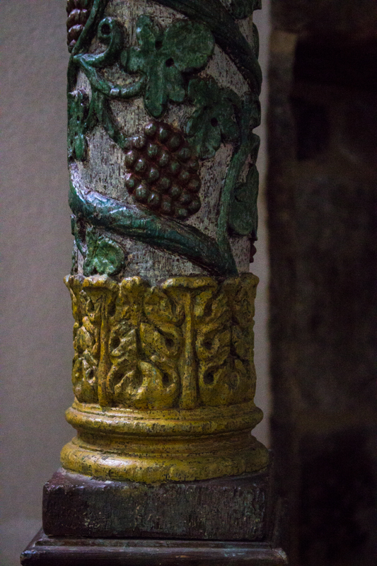 The uprights of the Font, Pleurin les Morlaix