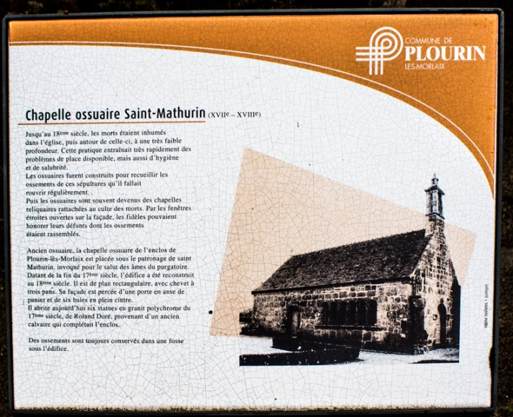 INformation board, Plourin les Morlaix