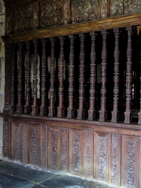 The 16C screen surrounding the Chancel
