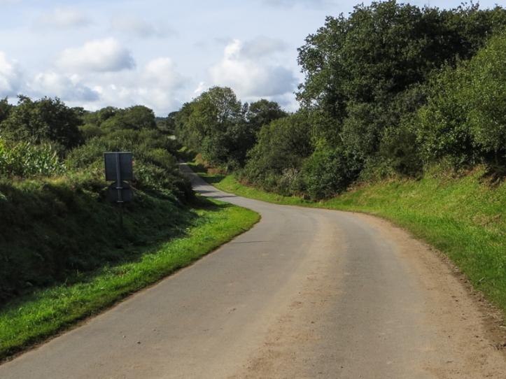 The road past Mougau Bihan