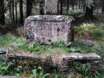 The base of the cross, Croas Melar