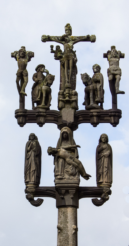 The Calvary of 1600 at Locmelar Church