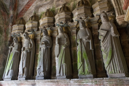 The Apostles, South Porch, Locmelar