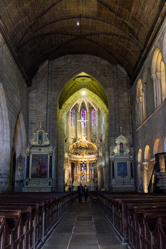 The Basilica of St Sauveur, Dinan