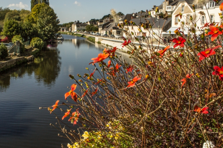 The River Oust at Josselin
