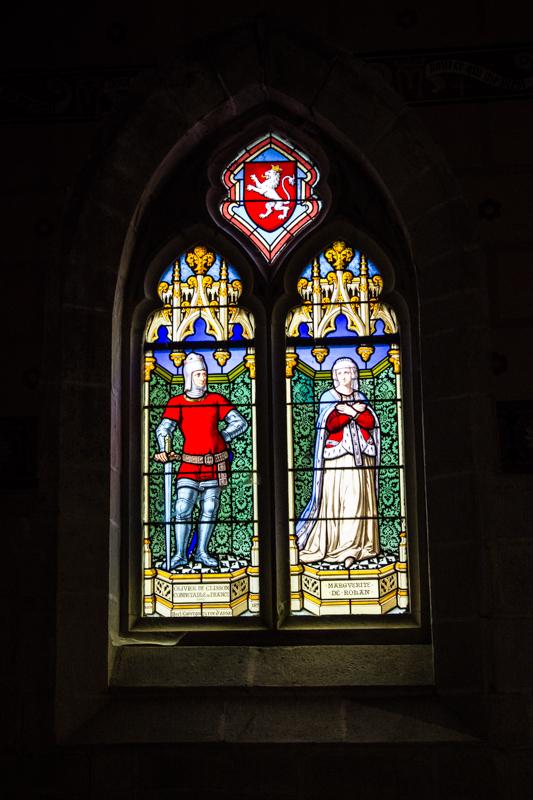 The Church of Notre Dame du Roncier, Josselin