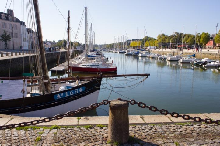 The port, Vannes
