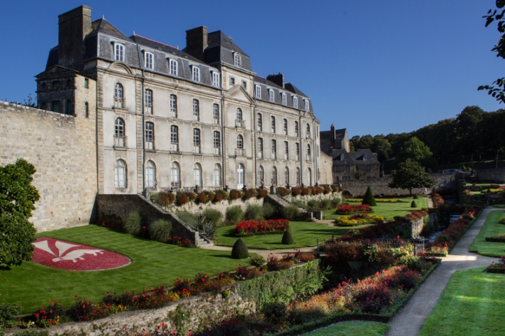 The Chateau de l'Hermine, Vannes