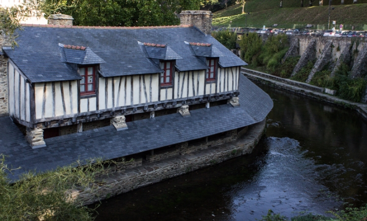 The washhouses of 1817-21, Vannes