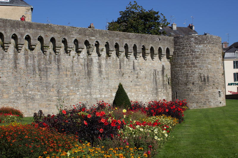 The Roman part of the walls, Vannes